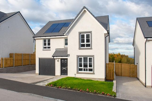 "Thumbnail Detached house for sale in ""Dunbar"" at Meikle Earnock Road, Hamilton"