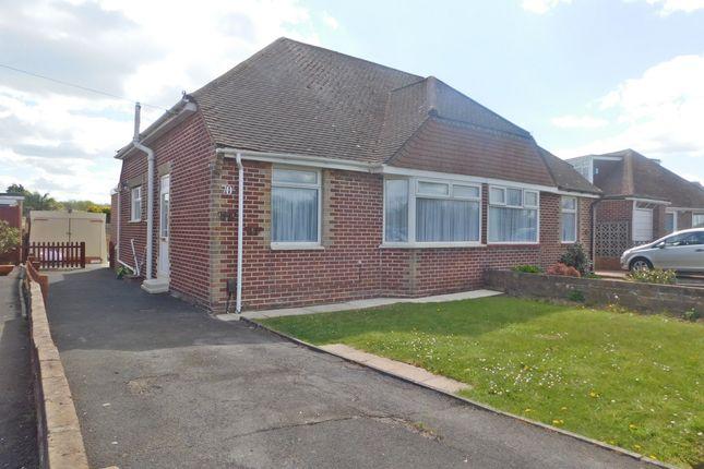 Thumbnail Semi-detached bungalow for sale in Cranleigh Road, Fareham
