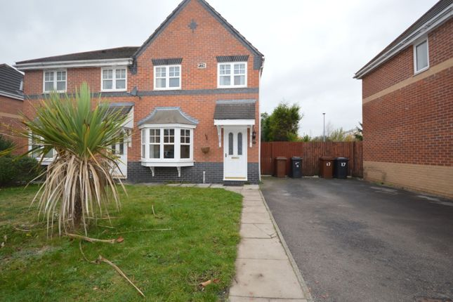 3 bed semi-detached house to rent in Chaucer Grove, Ettiley Heath, Sandbach CW11