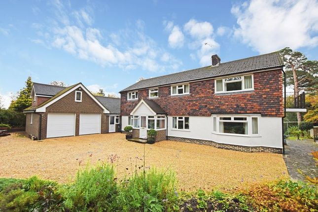 Thumbnail Detached house for sale in Treblers Road, Crowborough