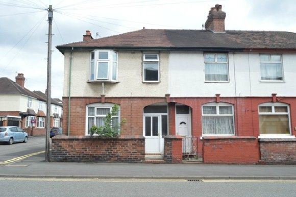 Thumbnail End terrace house to rent in Victoria Street, Hartshill, Stoke-On-Trent