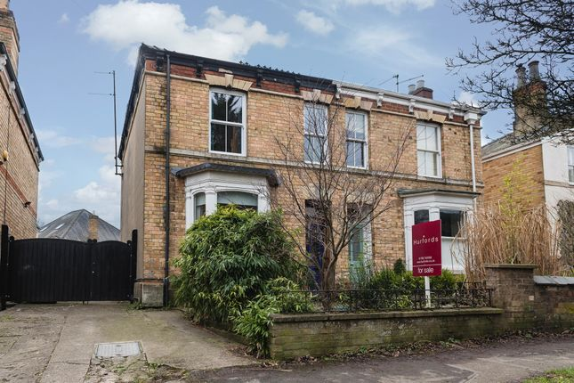 Thumbnail Semi-detached house for sale in Tinwell Road, Stamford