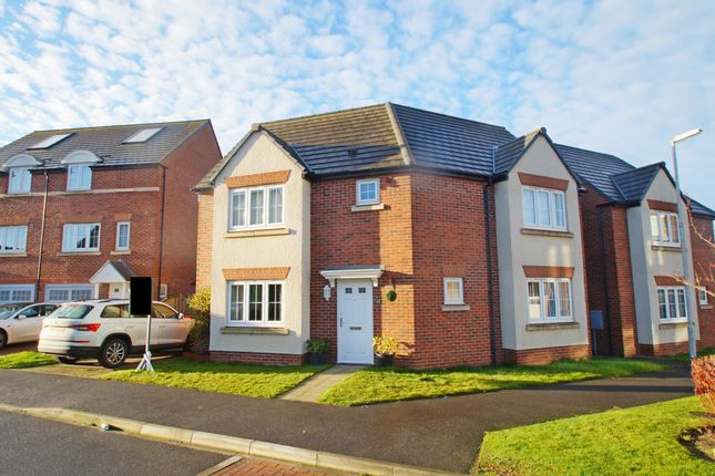 Thumbnail Detached house to rent in Prospect Place, Coxhoe, Durham