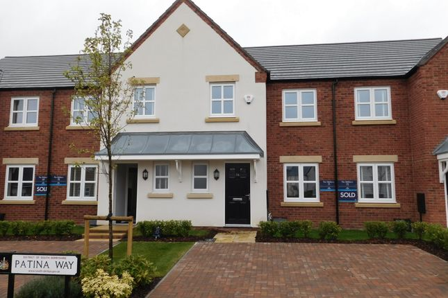 Thumbnail Mews house for sale in Patina Way, Swadlincote
