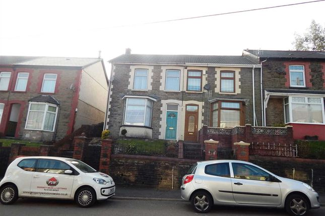 Thumbnail Terraced house to rent in Turberville Road, Porth