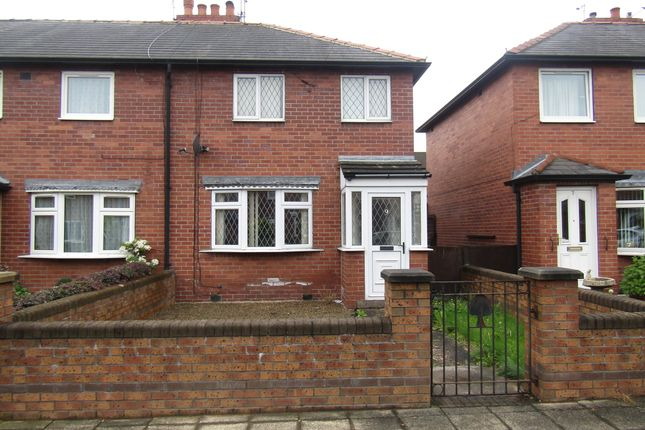 Thumbnail Semi-detached house to rent in Gregory Road, Castleford