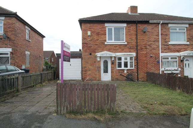 Thumbnail Semi-detached house for sale in Cambridge Crescent, Shiney Row, Houghton Le Spring