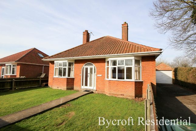 Thumbnail Detached bungalow for sale in Black Street, Martham, Great Yarmouth