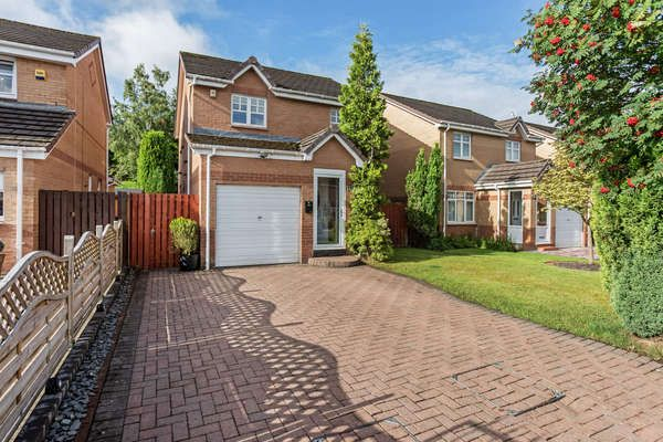 Thumbnail Detached house for sale in 42 Springcroft Crescent, Baillieston, Glasgow