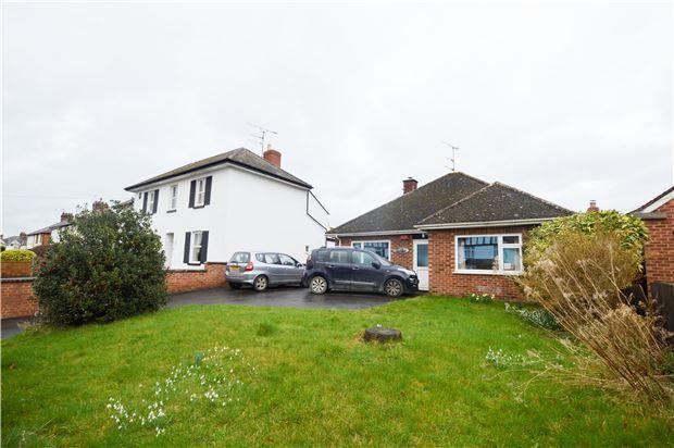Thumbnail Detached bungalow for sale in Bouncers Lane, Prestbury, Cheltenham, Gloucestershire