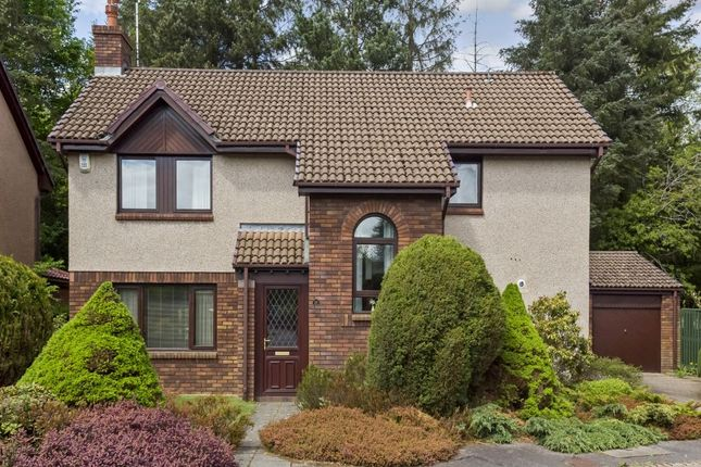 Thumbnail Detached house for sale in 10 Larchfield, Balerno