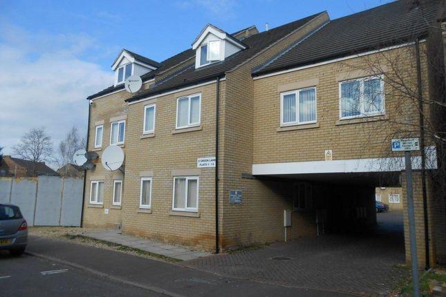 Thumbnail Flat to rent in Green Lane, Peterborough