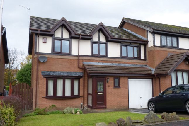Thumbnail Terraced house to rent in Parklands, Skelmersdale