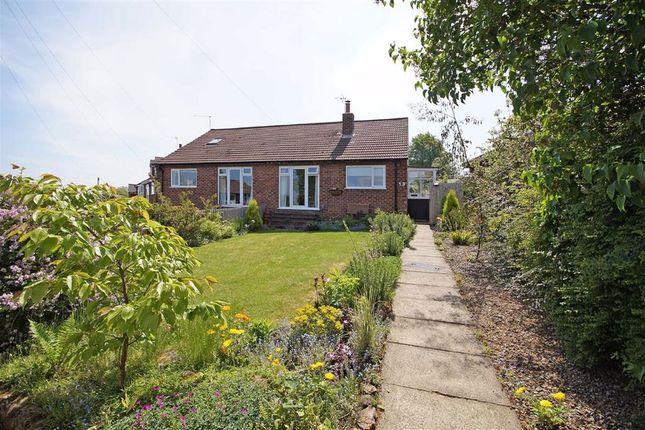 Thumbnail Semi-detached bungalow for sale in Hill Top Close, Harrogate, North Yorkshire