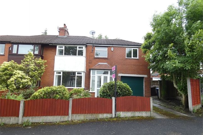 Semi-detached house to rent in Taunton Grove, Whitefield, Manchester