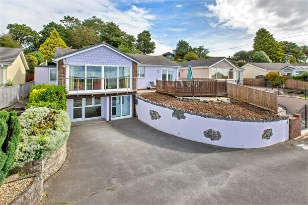 Thumbnail Detached bungalow for sale in Gaze Hill, Highweek, Newton Abbot, Devon.