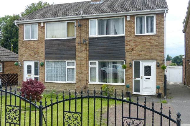 Thumbnail Semi-detached house for sale in Nunroyd, Heckmondwike, West Yorkshire.