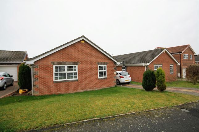 Thumbnail Detached bungalow for sale in Denwick Close, Chester Le Street