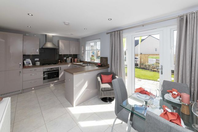 "Thumbnail Semi-detached house for sale in ""Traquair"" at Greystone Road, Kemnay, Inverurie"