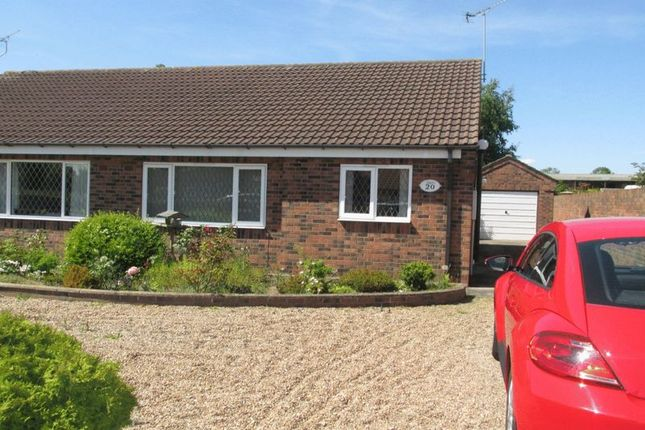 Thumbnail Semi-detached bungalow to rent in Field Road, Crowle, Scunthorpe