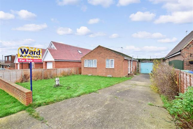 Thumbnail Detached bungalow for sale in Cliff View Gardens, Bayview, Sheerness, Kent