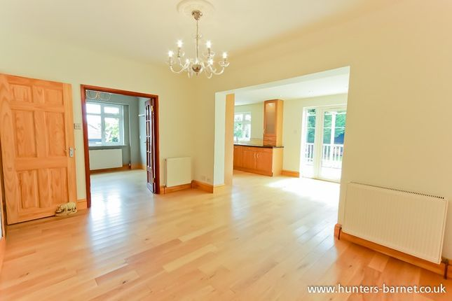 Thumbnail Detached bungalow to rent in Meadway, High Barnet, Barnet