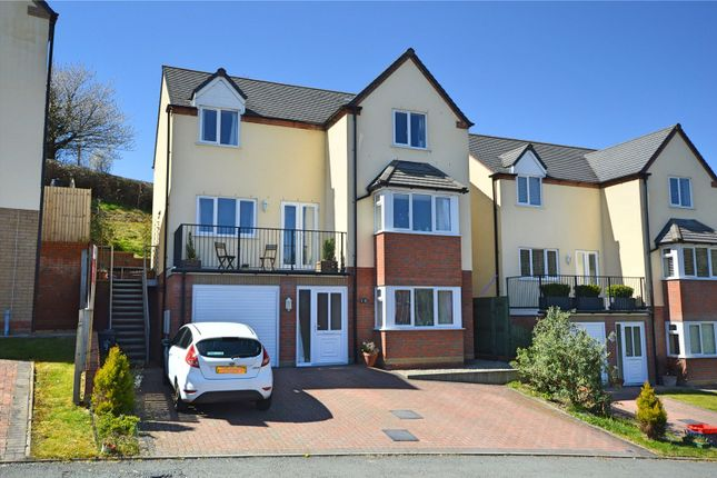 Thumbnail Detached house for sale in Brynmor Parc, Newtown, Powys