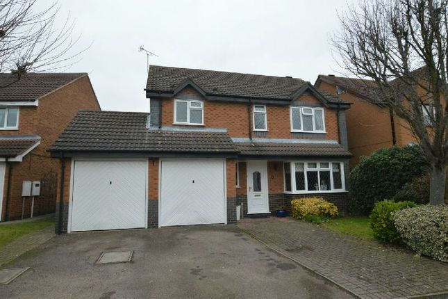 Thumbnail Detached house for sale in Emperor Way, Whetstone, Leicester