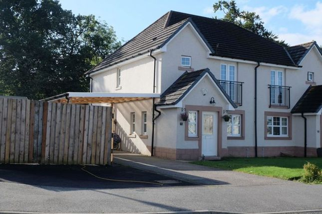 Thumbnail Semi-detached house for sale in Briargrove Drive, Inshes, Inverness