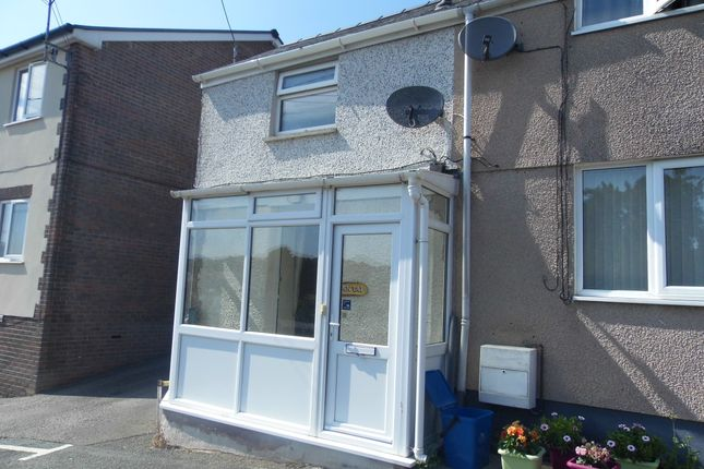 Thumbnail End terrace house to rent in Pentai, Glan Conwy