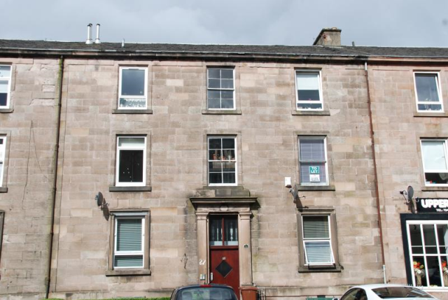 Thumbnail Flat to rent in Brisbane Street, Greenock PA16,