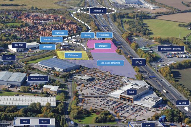 Land for sale in Junction 8 M62, Warrington