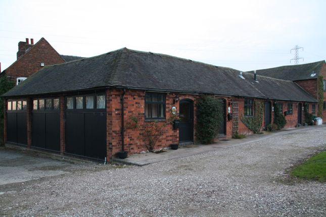 Thumbnail Barn conversion to rent in Gorton Lodge Farm, Longdon