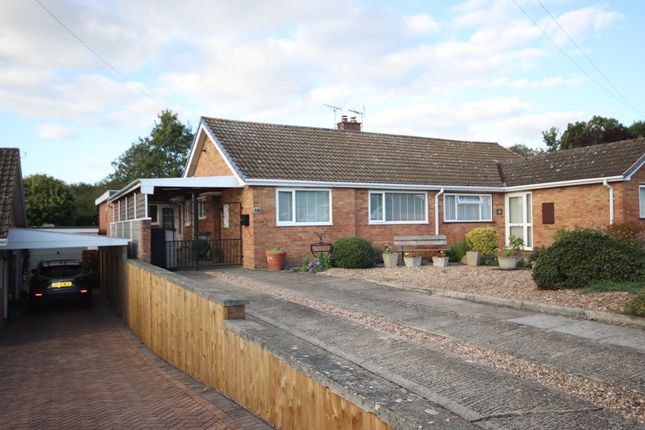 Thumbnail Semi-detached bungalow for sale in Evendene Road, Evesham