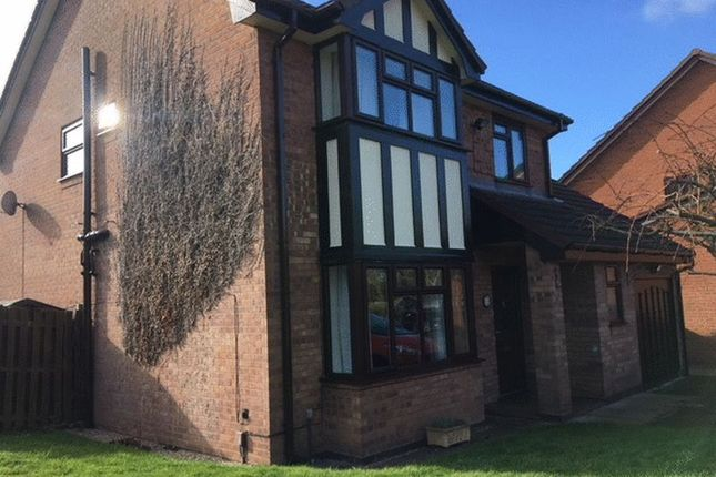 Thumbnail Detached house to rent in Aspen Way, Telford