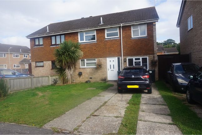 Thumbnail Semi-detached house for sale in Langney Drive, Ashford