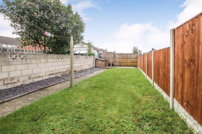 Garden of Cemetery Road, Leabrooks, Alfreton DE55