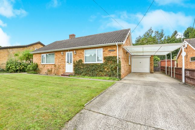 Thumbnail Detached bungalow for sale in Tanners Green, Garvestone, Norwich