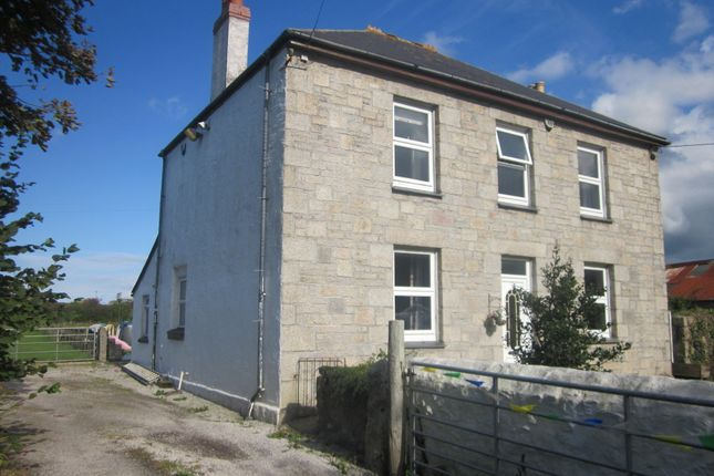 Thumbnail Detached house for sale in Shaftdowns Lane, Gwinear, Hayle