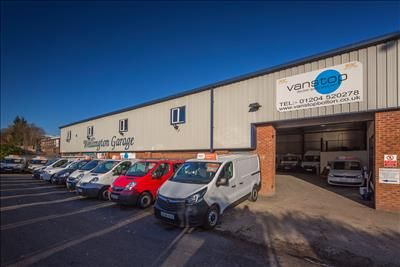 Office to let in Wellington Garage, Bury Road, Bolton