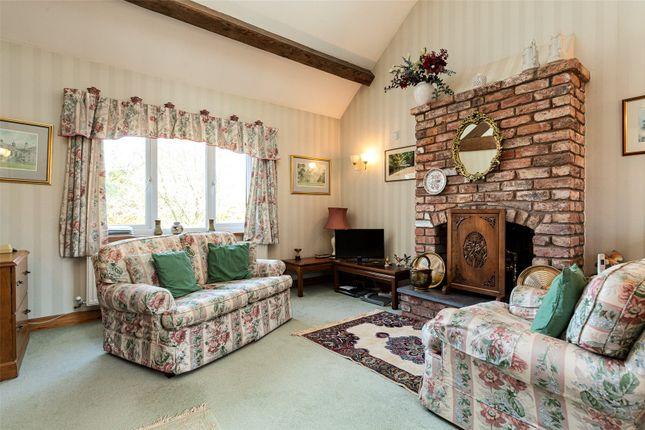 Sitting Room of Ridley Hill Farm, Ridley, Tarporley, Cheshire CW6