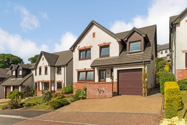 Thumbnail Detached house for sale in Cubrieshaw Park, West Kilbride, North Ayrshire, Scotland
