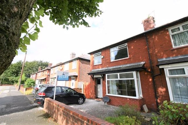 Thumbnail Semi-detached house to rent in Spencer Avenue, Whitefield, Manchester