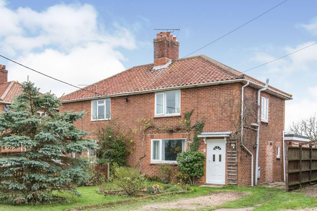 3 bed semi-detached house for sale in The Street, Alburgh, Harleston IP20