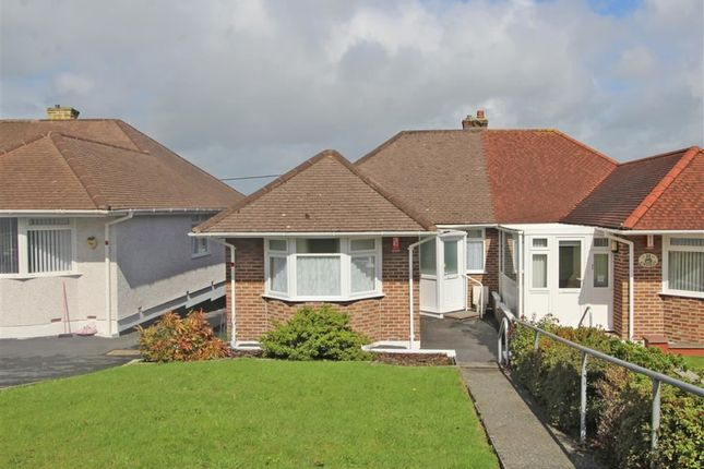 Thumbnail Semi-detached bungalow for sale in Marina Road, West Park, Plymouth