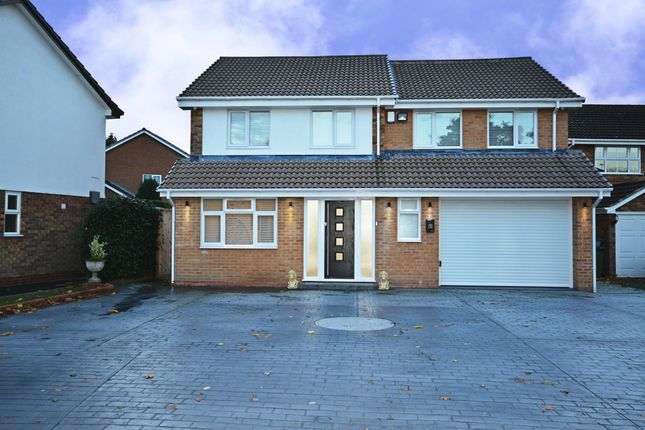 Thumbnail Detached house to rent in Tyberry Close, Shirley, Solihull, West Midlands