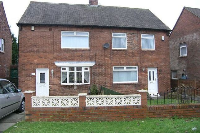 Thumbnail Semi-detached house to rent in Horton Avenue, Shiremoor, Newcastle Upon Tyne