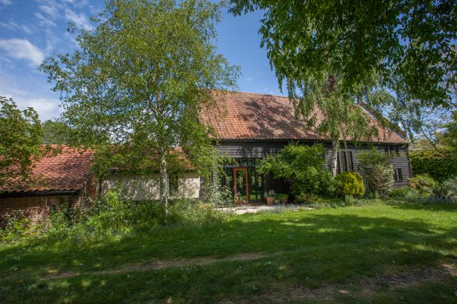 Thumbnail Barn conversion for sale in Barsham, Beccles