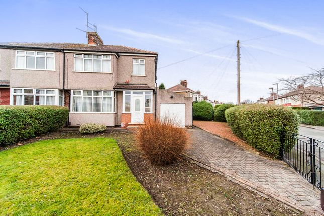Thumbnail Semi-detached house for sale in Westfield Crescent, Stockton-On-Tees