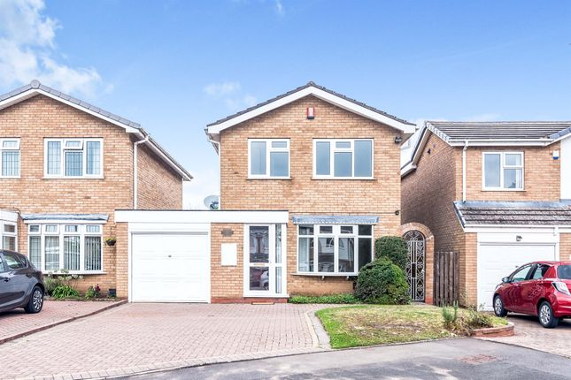 Thumbnail Detached house for sale in Lytham Close, Minworth, Sutton Coldfield
